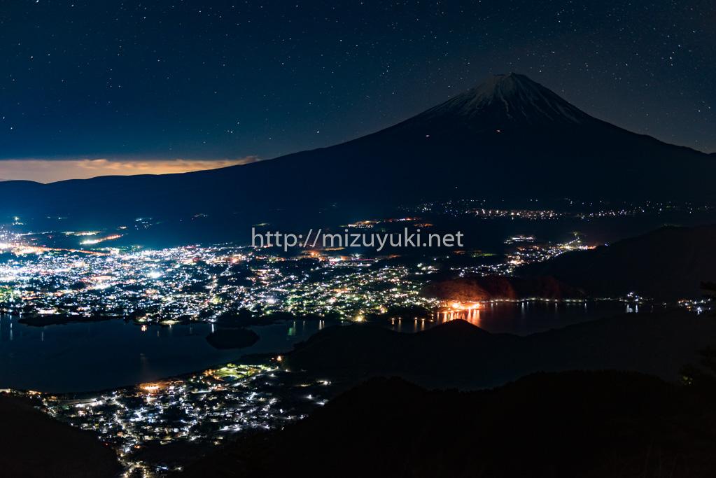 新道峠_富士山